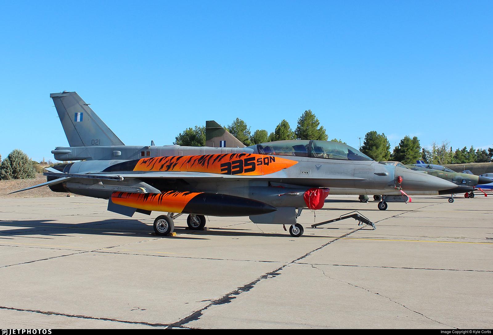 021 - Lockheed Martin F-16D Fighting Falcon - Greece - Air Force