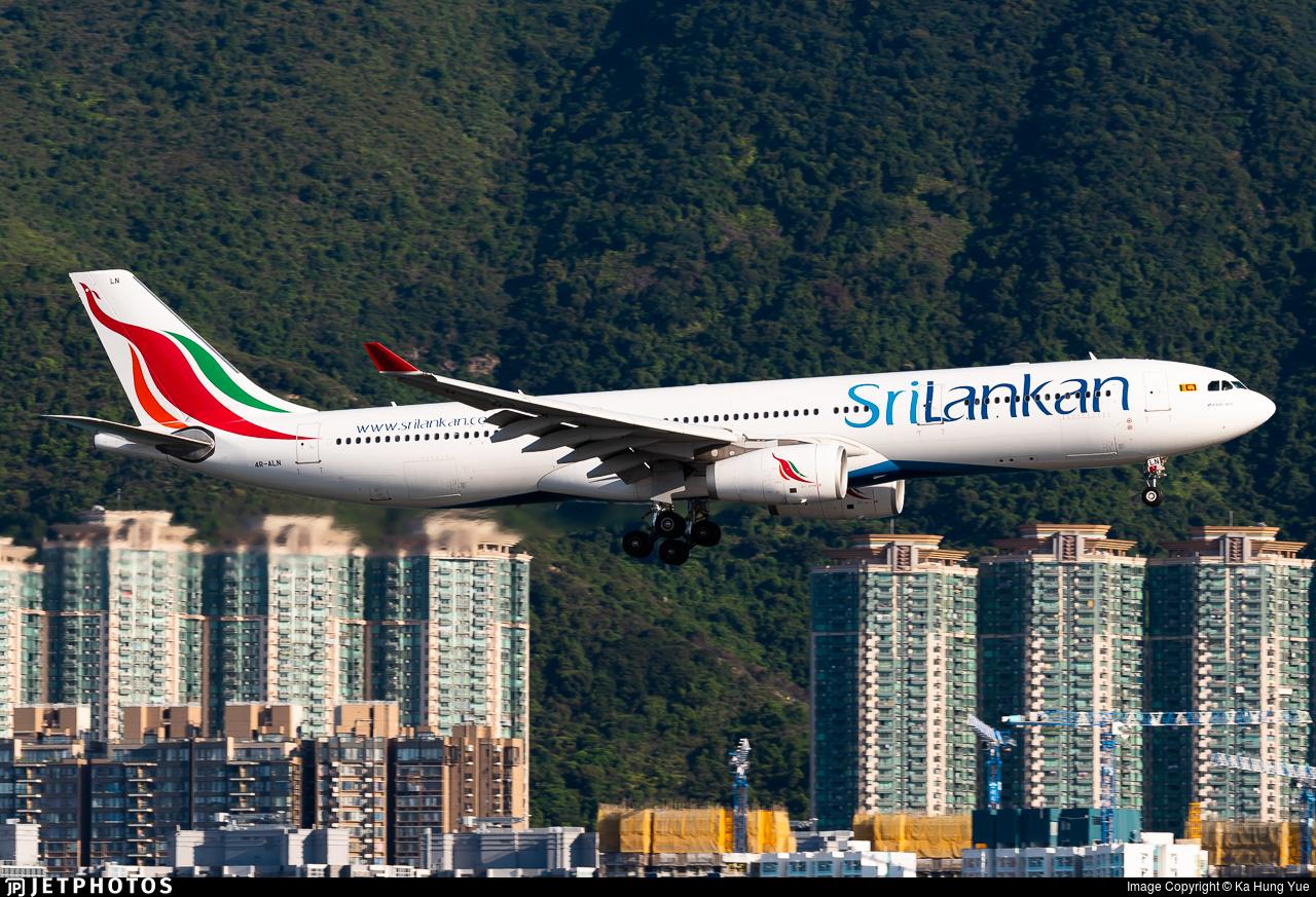 4R-ALN - Airbus A330-343 - SriLankan Airlines