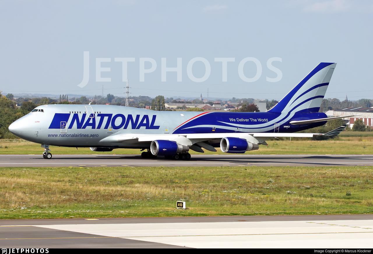 N949CA - Boeing 747-428(BCF) - National Airlines