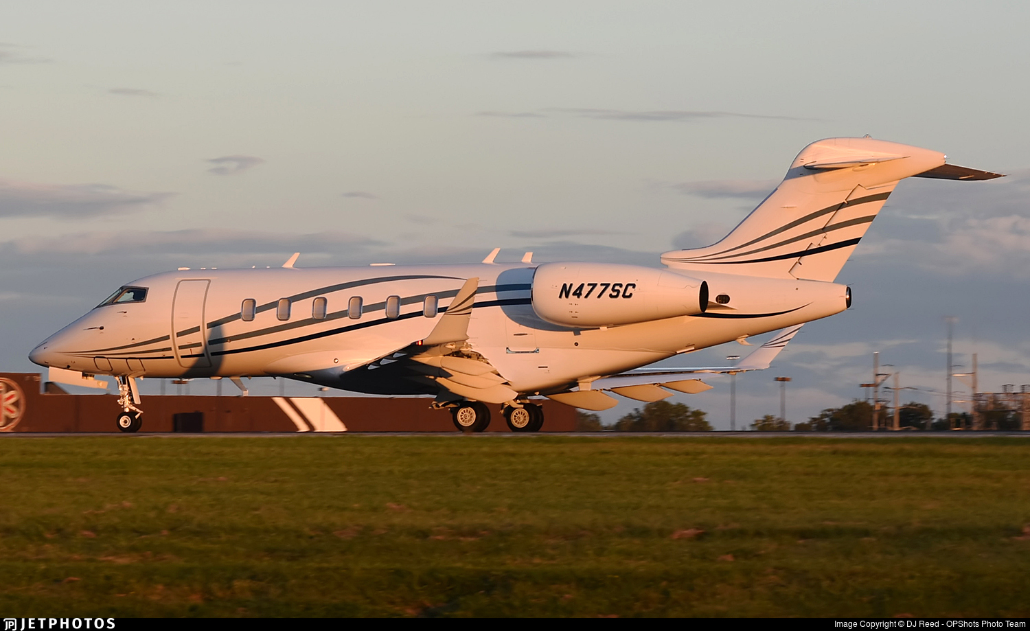 N477SC - Bombardier BD-100-1A10 Challenger 350 - Private