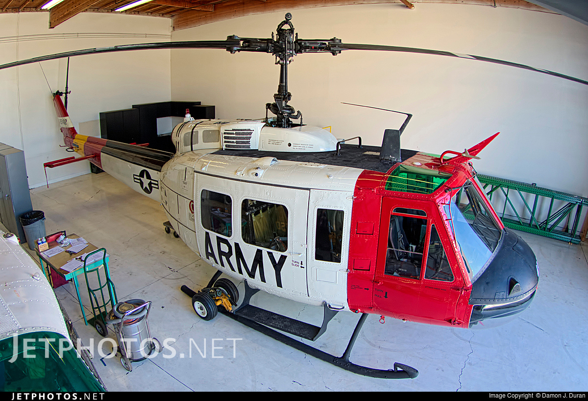 N181SD - Bell UH-1V Iroquois - United States - Orange County Sheriff Department, California