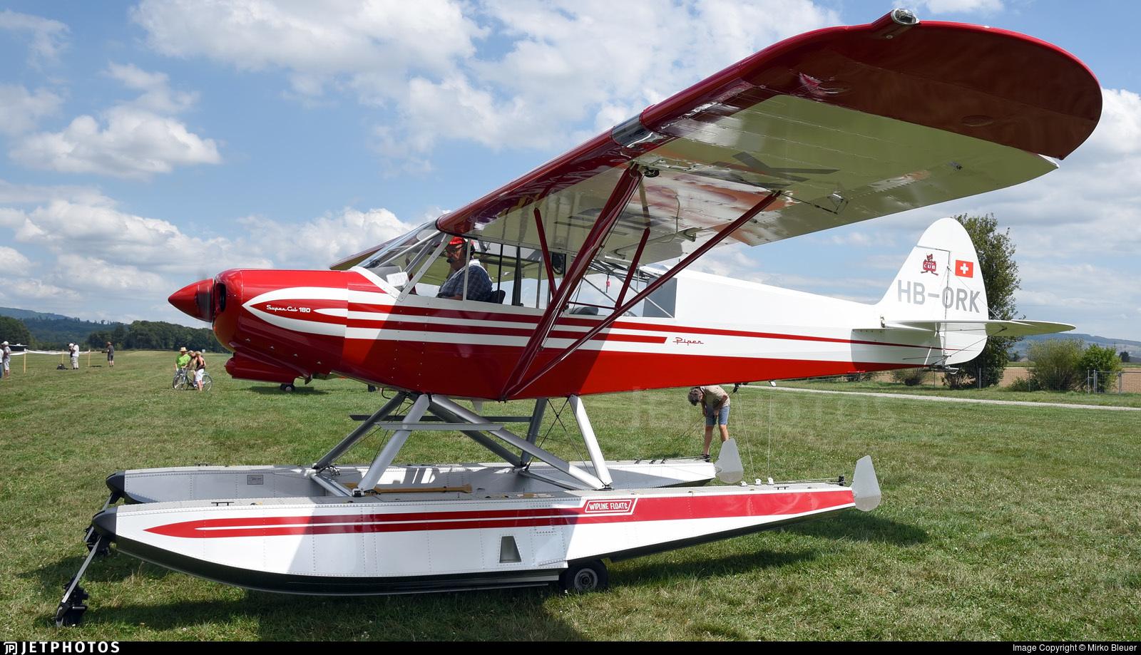 HB-ORK - Piper PA-18-180M Super Cub - Private