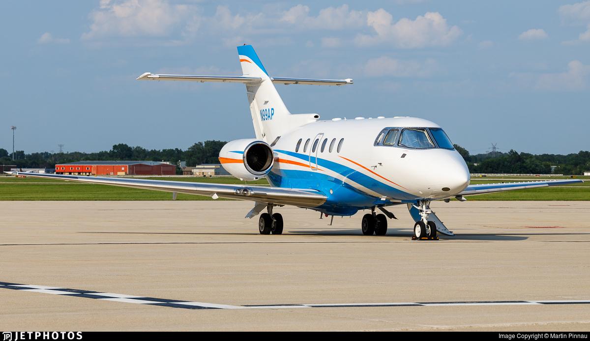 N99AP - Raytheon Hawker 800XP - Private