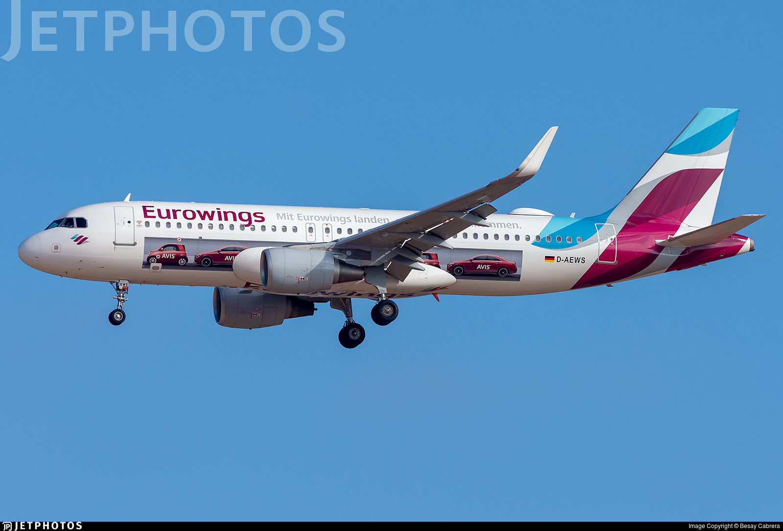 D-AEWS - Airbus A320-214 - Eurowings