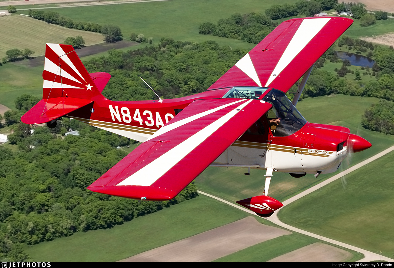 N843AC - American Champion 8KCAB Super Decathlon - Private