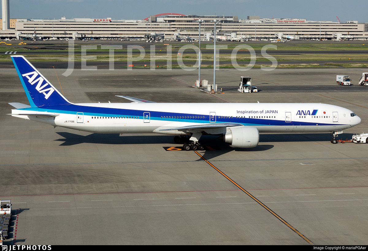 JA779A - Boeing 777-381ER - All Nippon Airways (ANA)