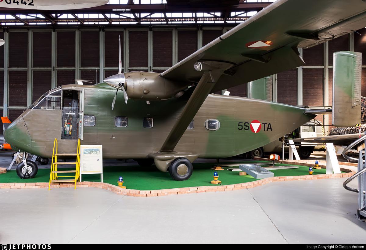 5S-TA - Short SC-7 Skyvan - Austria - Air Force
