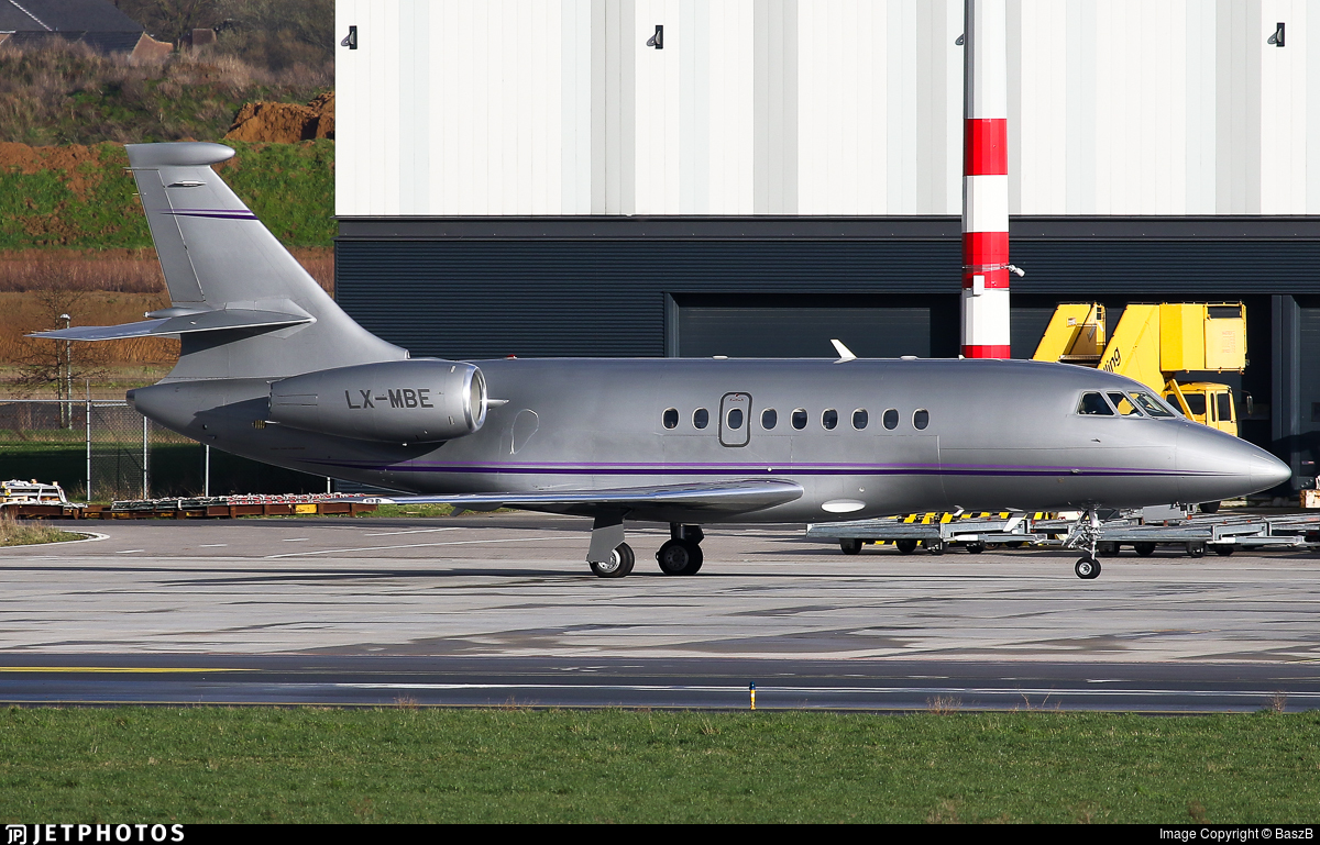 LX-MBE - Dassault Falcon 2000 - Global Jet Luxembourg