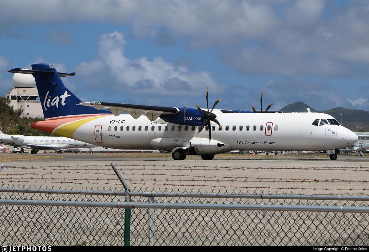 V2-LIC - ATR 72-212A(600) - Leeward Islands Air Transport (LIAT)