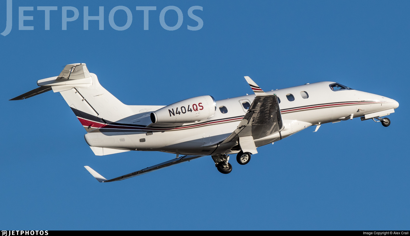 N404QS - Embraer 505 Phenom 300 - Private