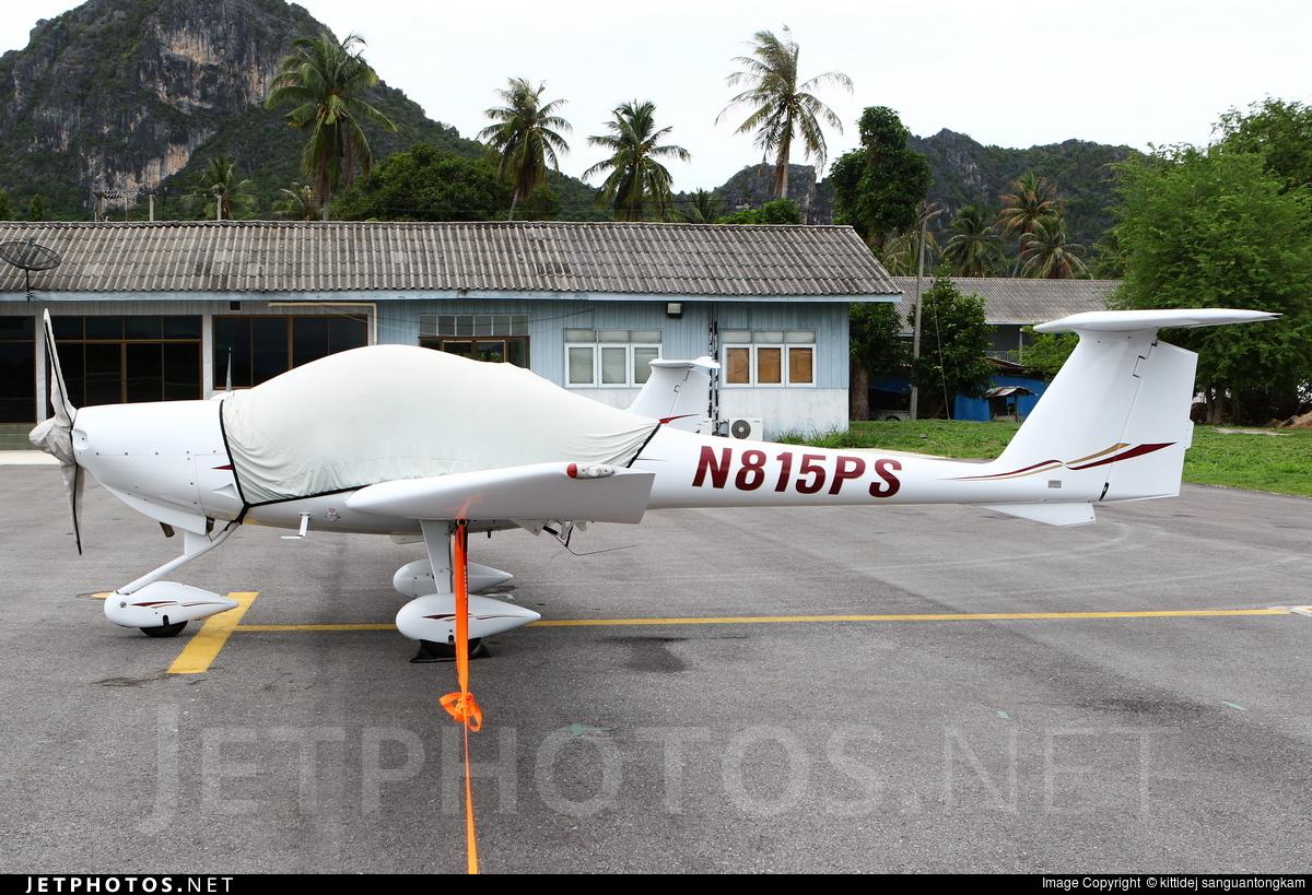 N815PS - Diamond DA-20-C1 Eclipse - Private