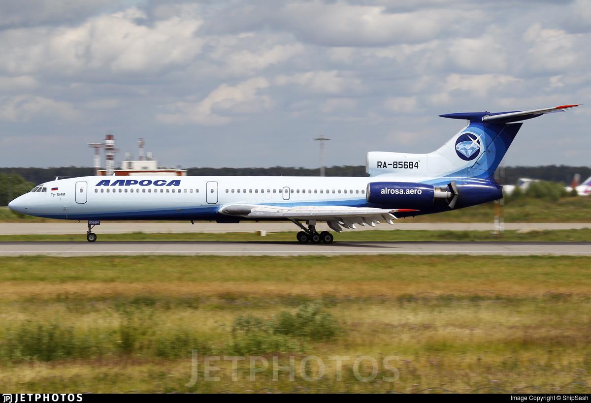 RA-85684 - Tupolev Tu-154M - Alrosa Airlines