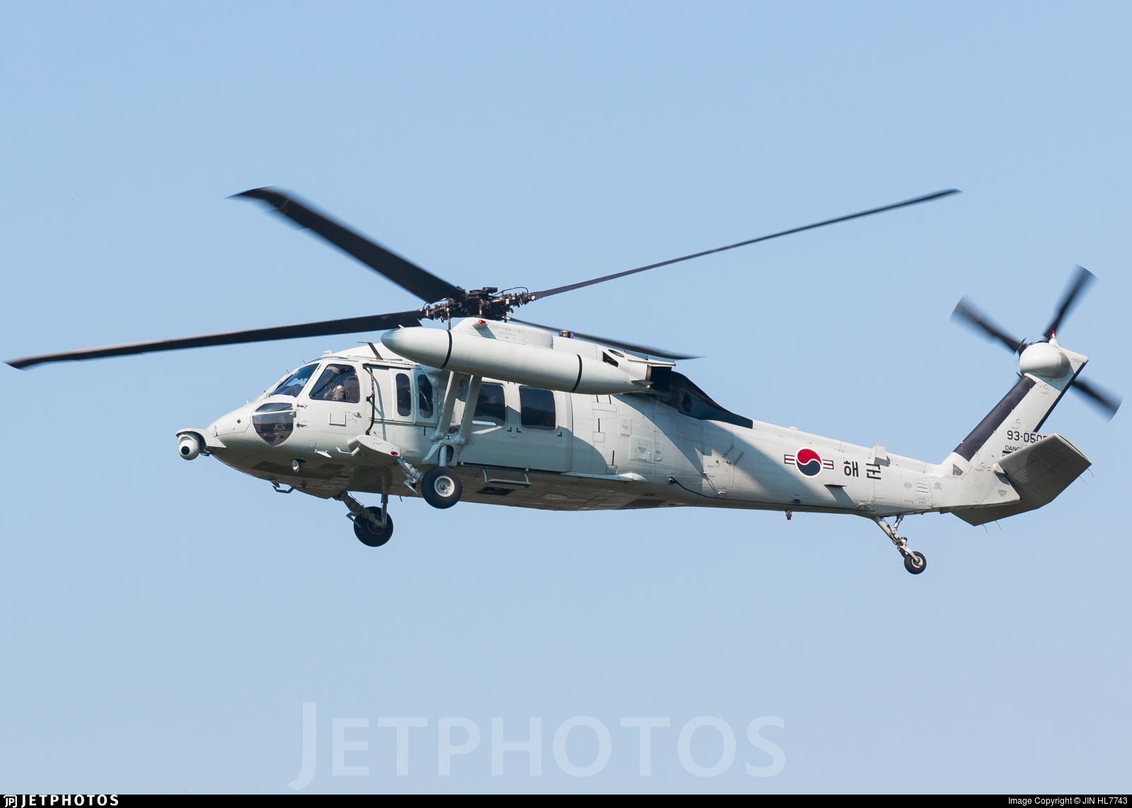 93-0505 - Sikorsky UH-60P Blackhawk - South Korea - Navy