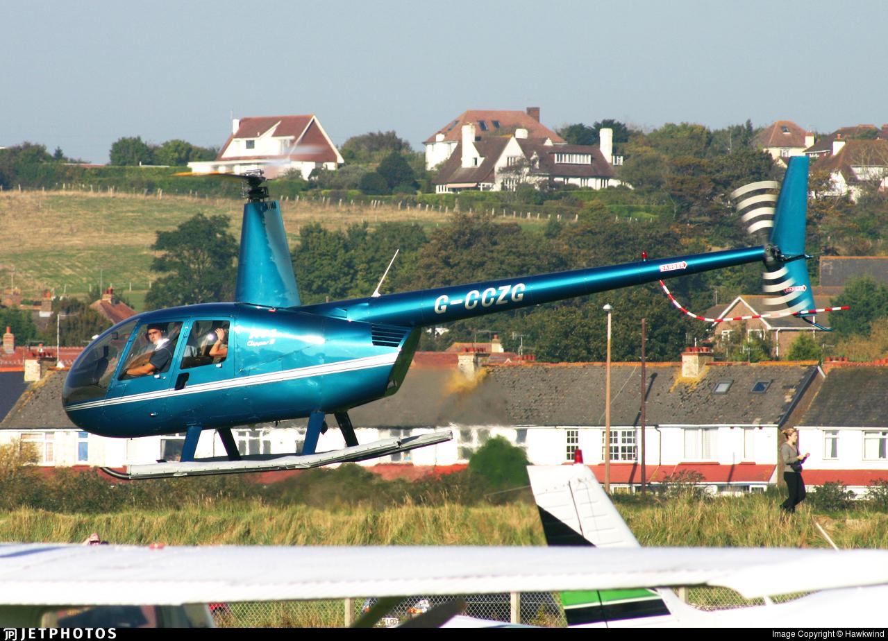 G-CCZG - Robinson R44 Clipper II - Private
