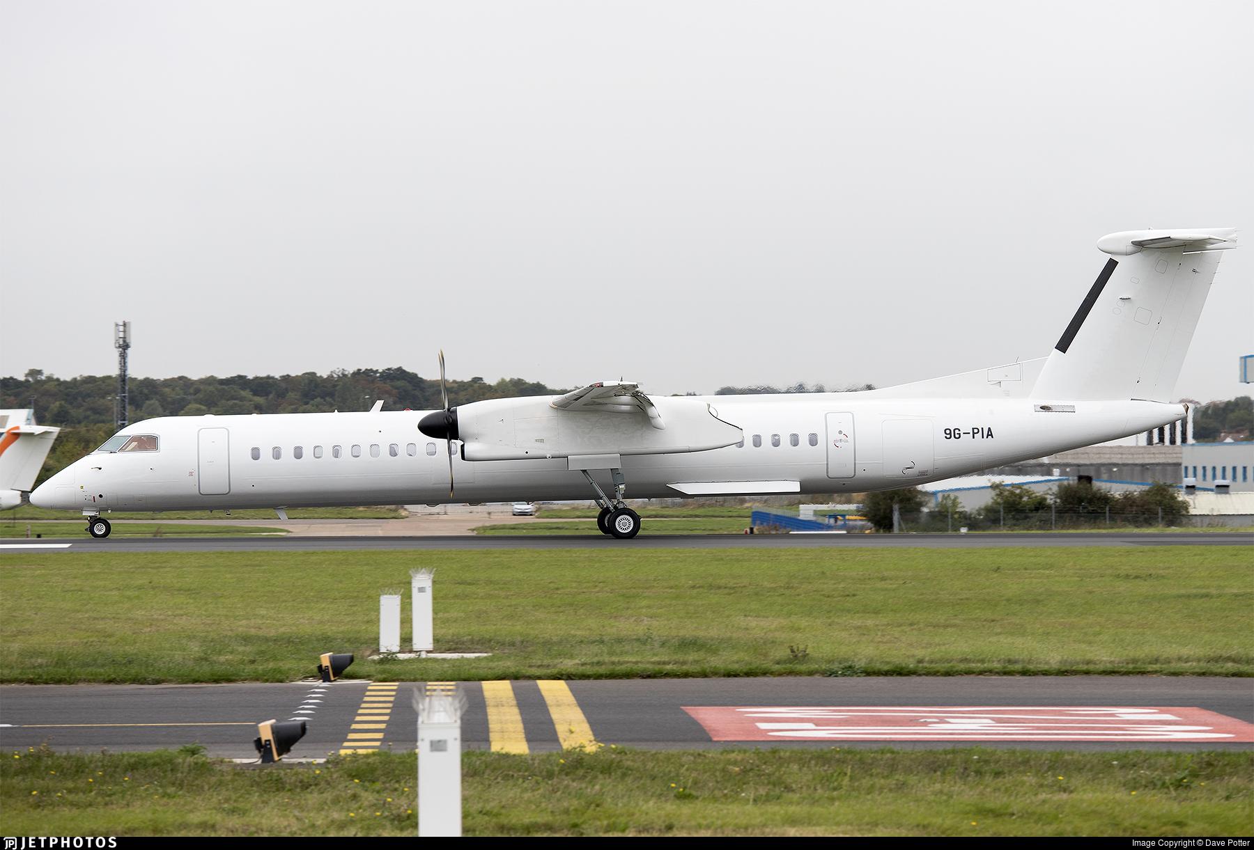 9G-PIA - Bombardier Dash 8-Q402 - PassionAir