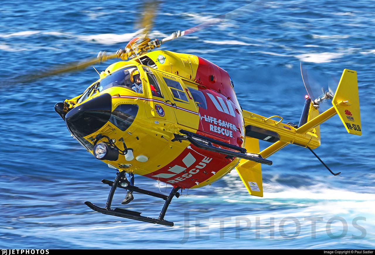 VH-SLU - MBB-Kawasaki BK117B-2 - Westpac Rescue Helicopter Service