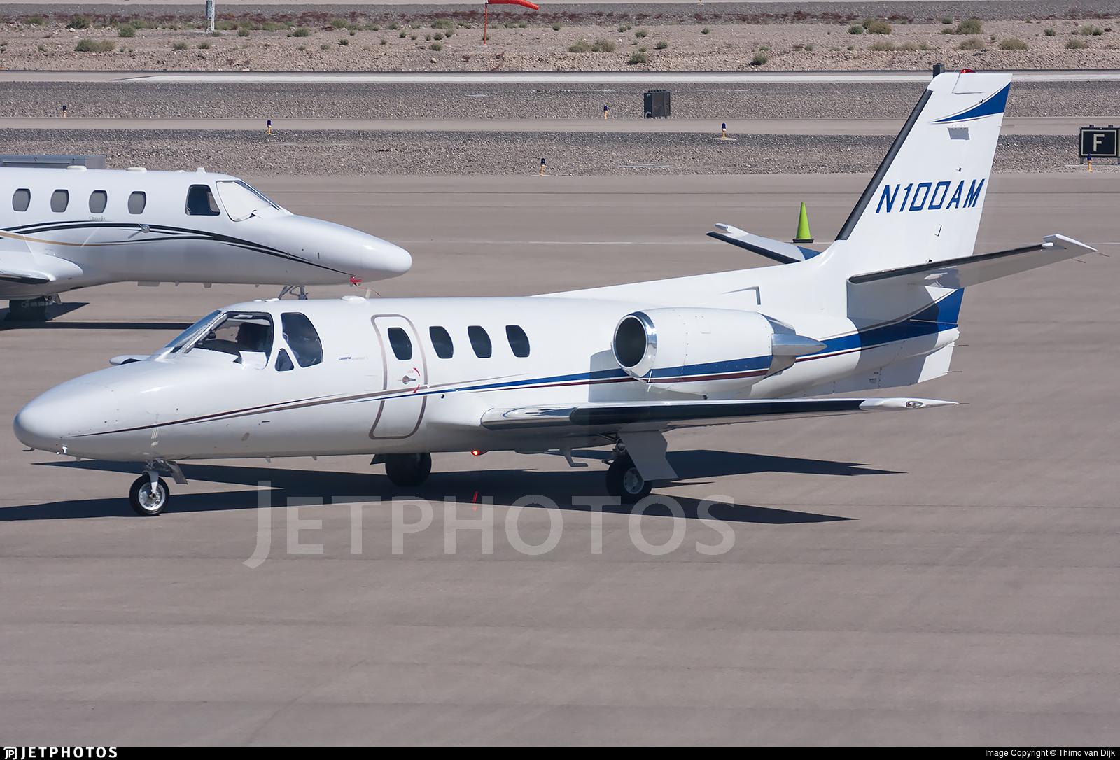 N100AM  Cessna 500 Citation 1  Private  Thimo Van Dijk  JetPhotos
