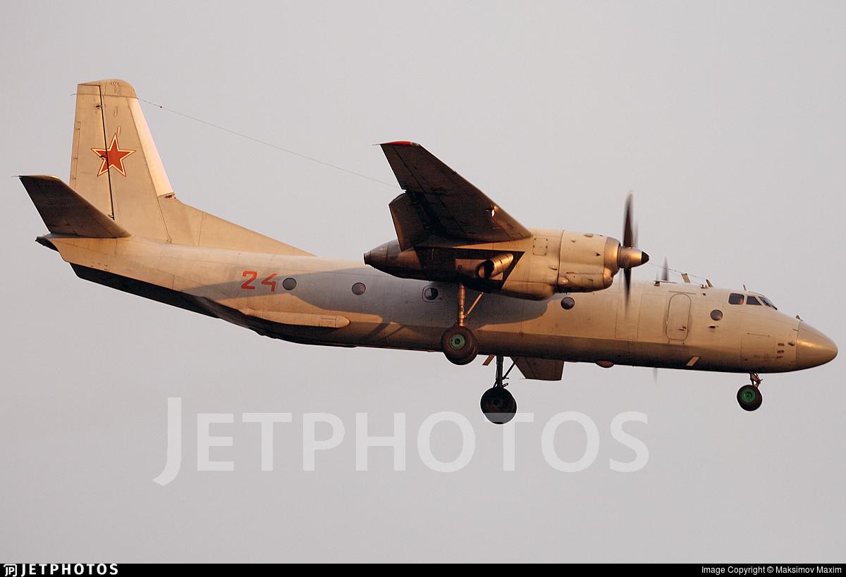 24 - Antonov An-26 - Russia - Air Force