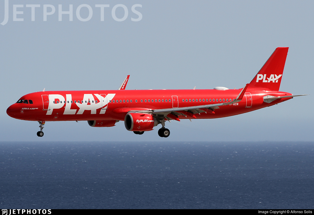 TF-AEW - Airbus A321-251N - PLAY