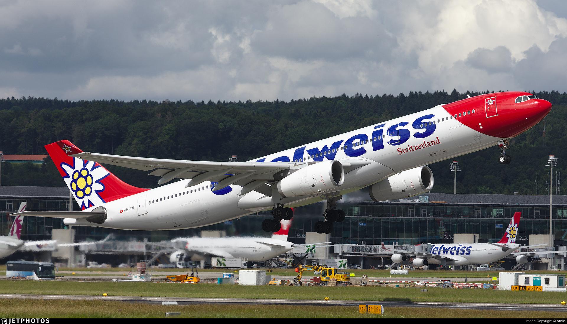 HB-JHQ - Airbus A330-343 - Edelweiss Air