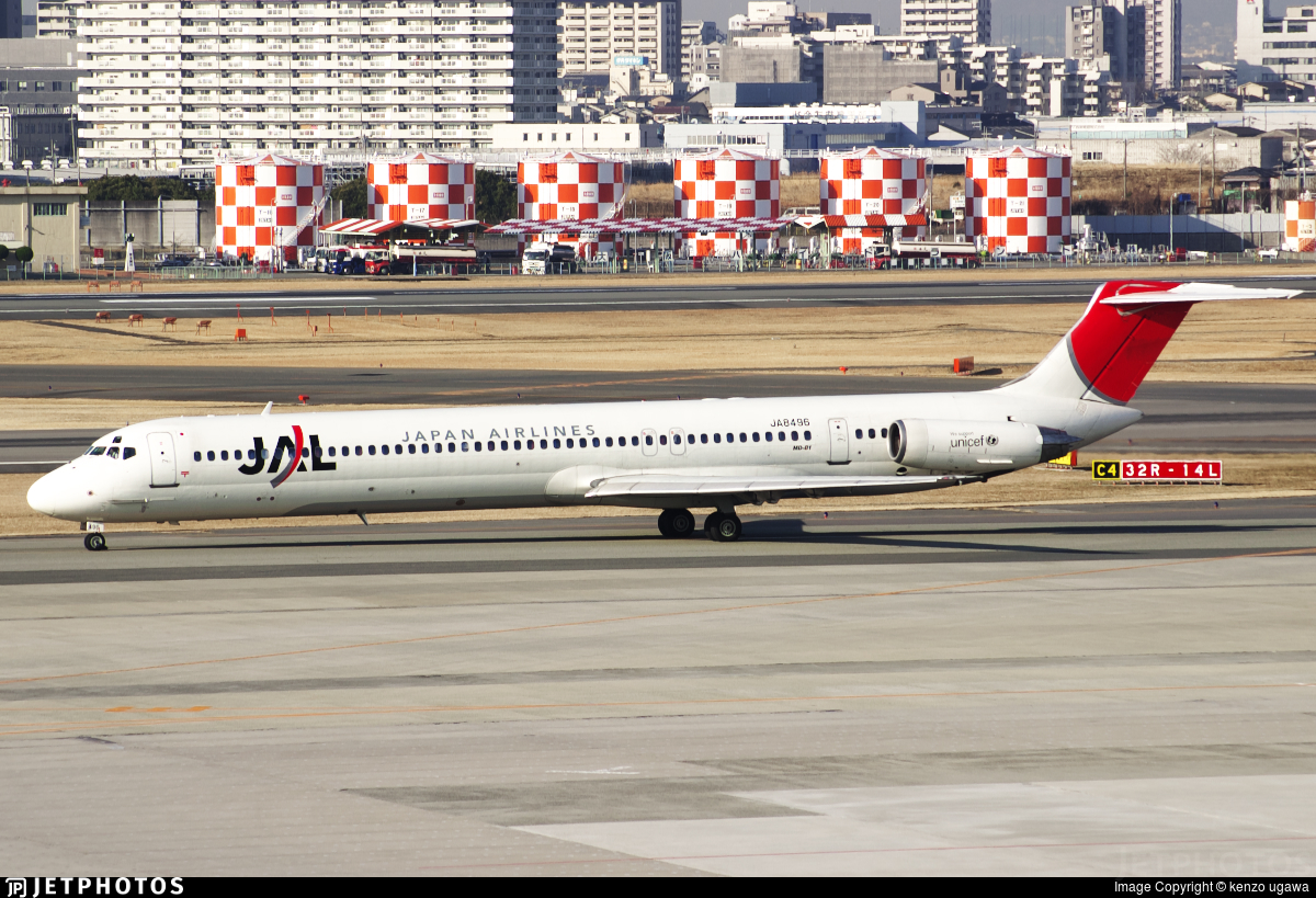 JA8496 - McDonnell Douglas MD-81 - Japan Airlines (JAL)