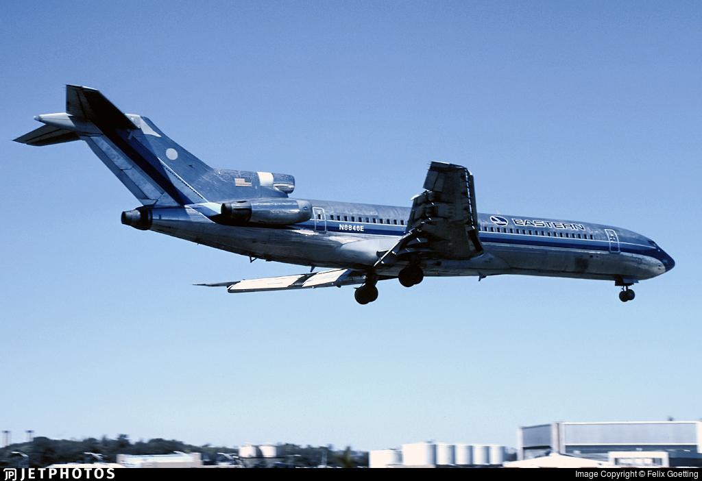 N8846E - Boeing 727-225 - Eastern Air Lines