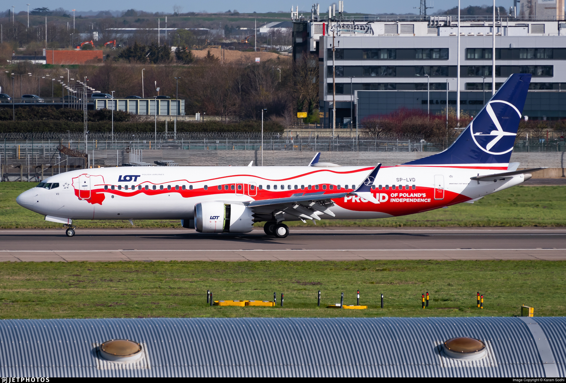 SP-LVD - Boeing 737-8 MAX - LOT Polish Airlines