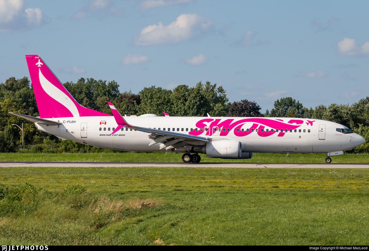 C-FLBV - Boeing 737-8CT - Swoop