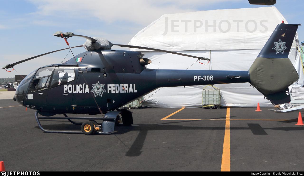 XC-CPF - Eurocopter EC 120B Colibri - Mexico - Police