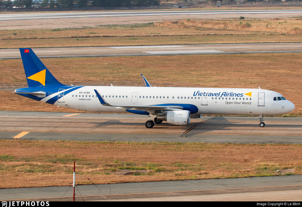 VN-A288 - Airbus A321-211 - Vietravel Airlines