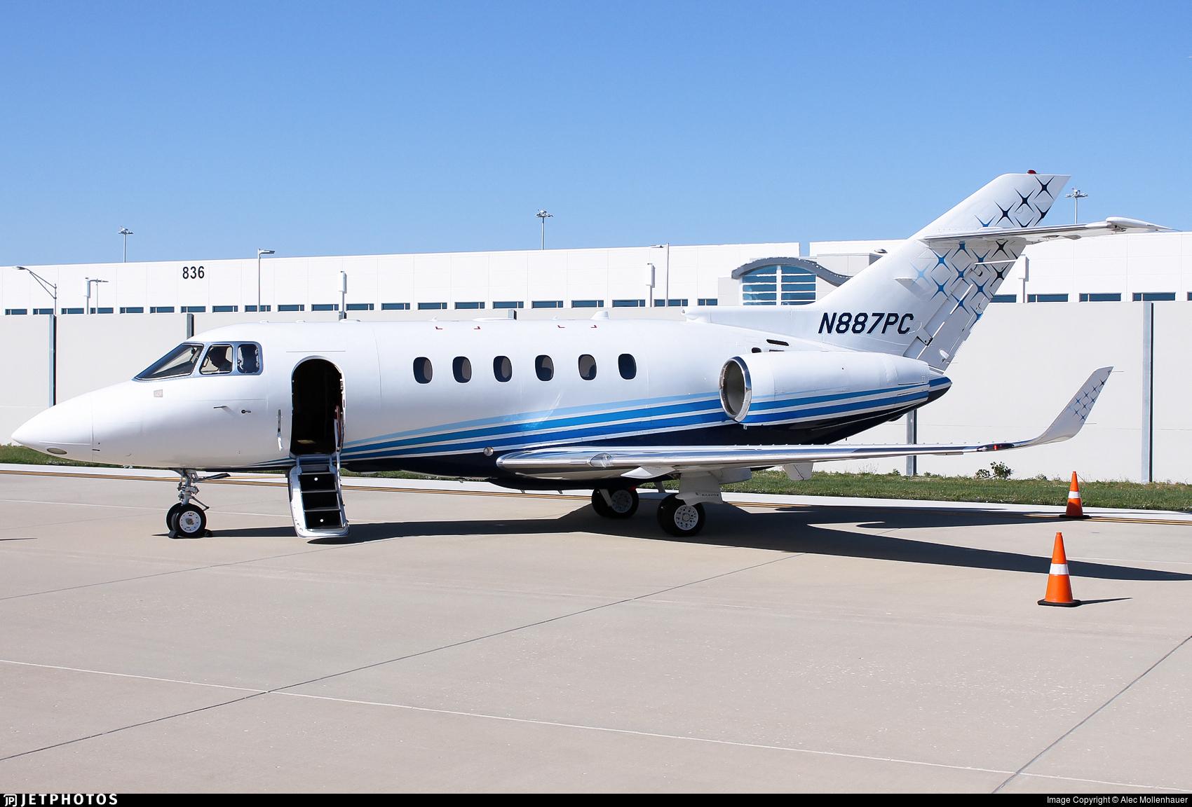 N887PC - Hawker Beechcraft 900XP - Private