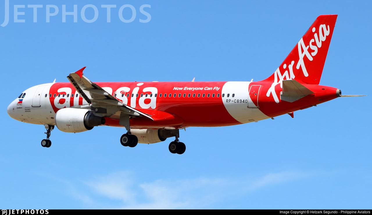 RP-C8940 - Airbus A320-216 - Philippines AirAsia