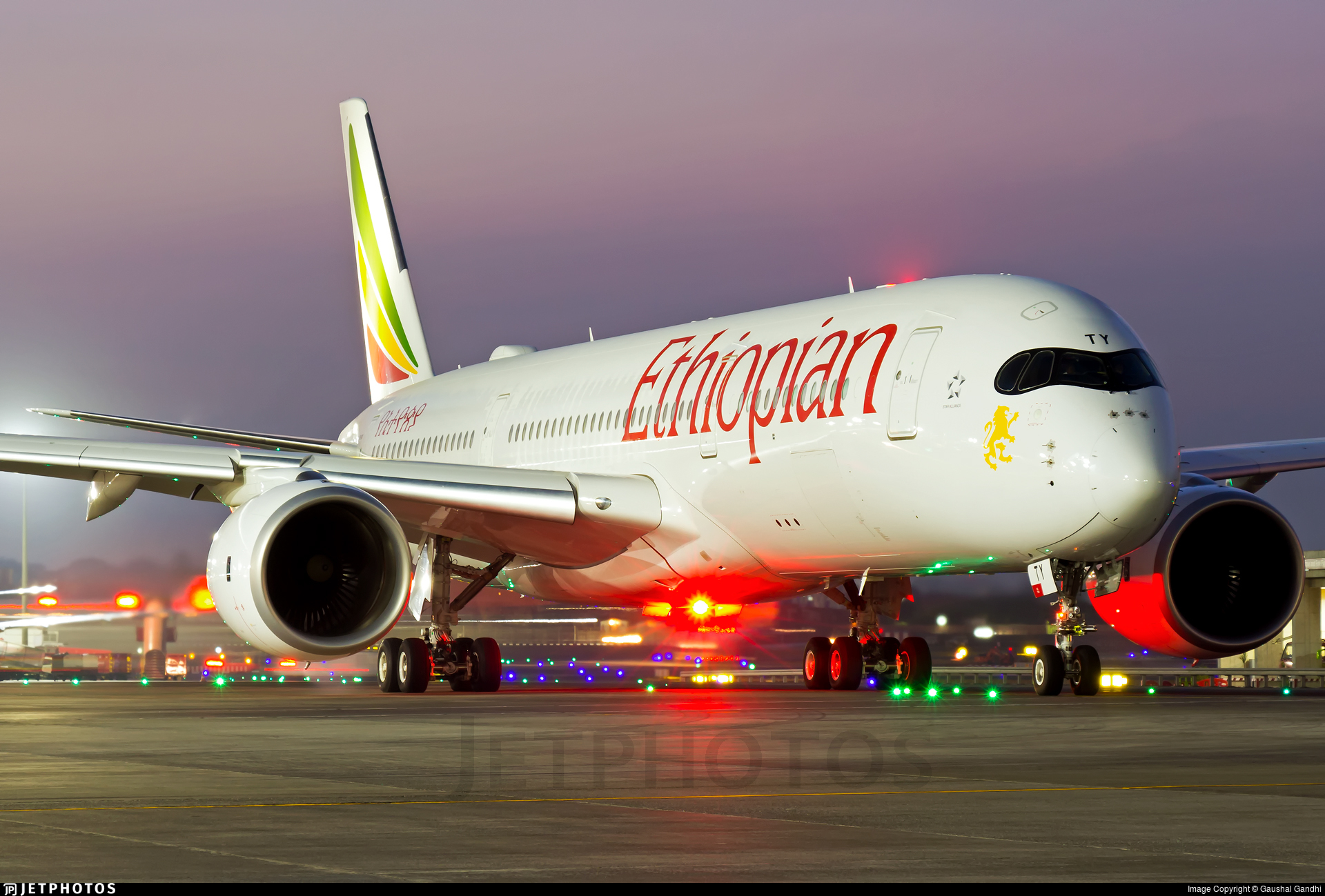 etaty airbus a350941 ethiopian airlines gaushal