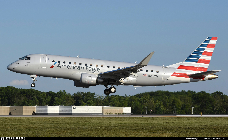 N227NN - Embraer 170-200LR - American Eagle (Envoy Air)