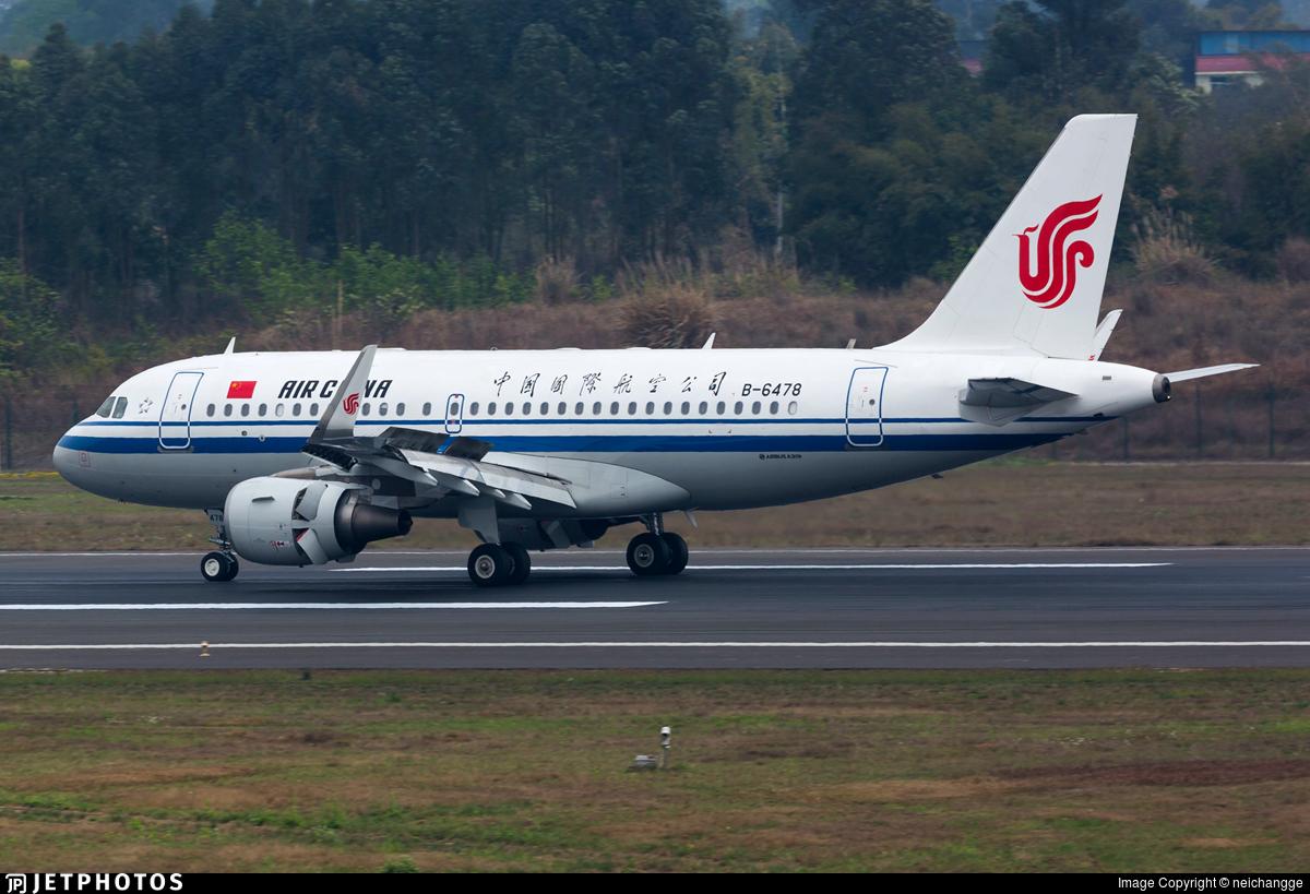 B-6478 - Airbus A319-115 - Air China