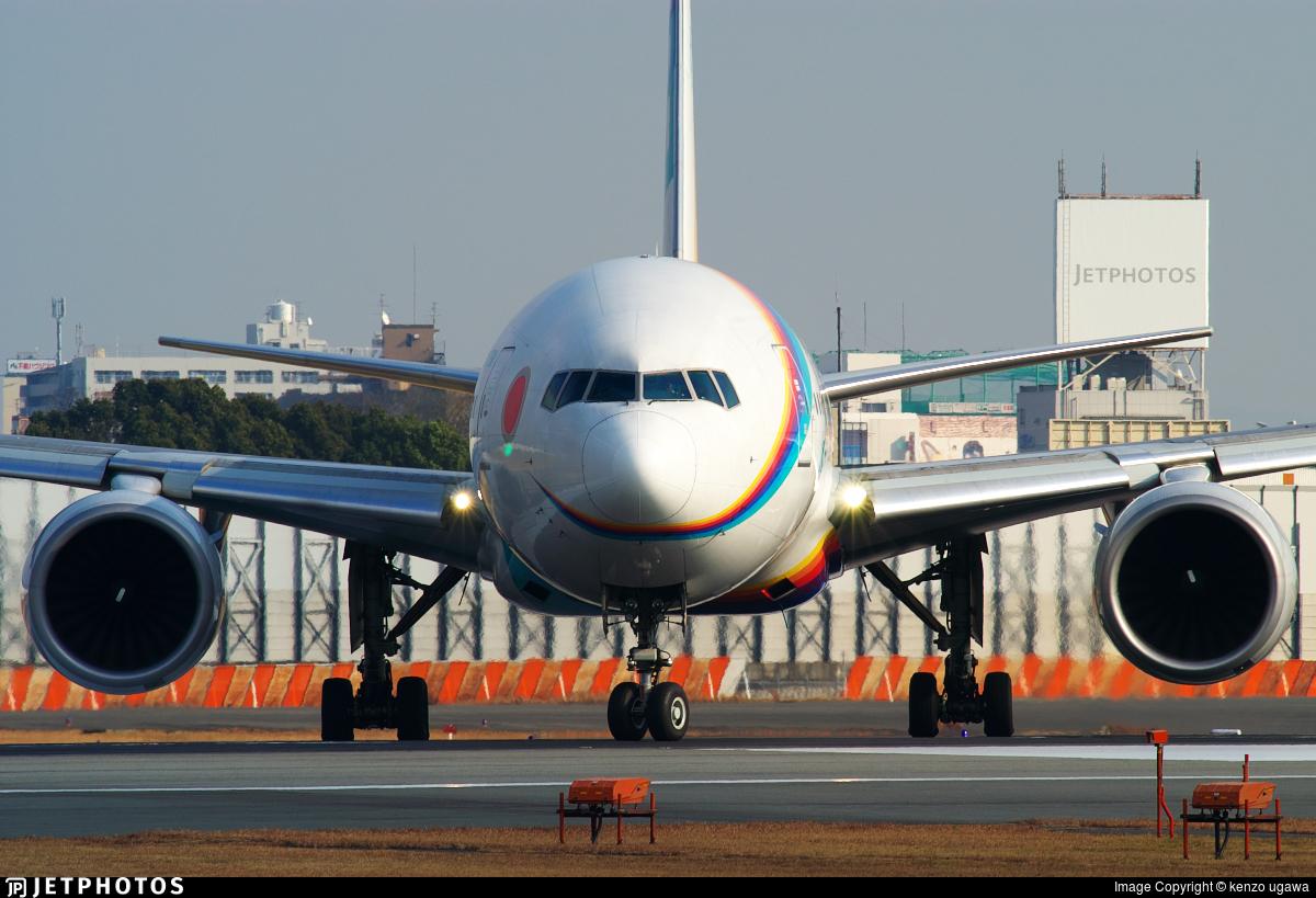 JA007D - Boeing 777-289 - Japan Air System (JAS)