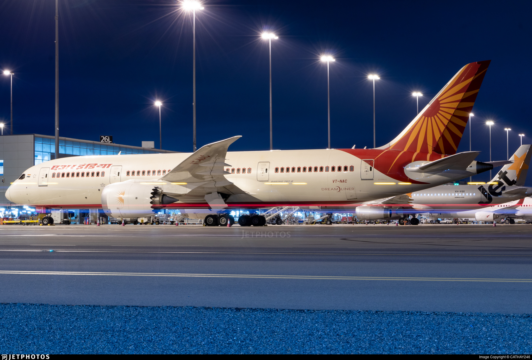 VT-NAC - Boeing 787-8 Dreamliner - Air India