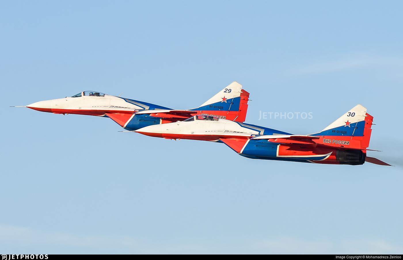 RF-91928 - Mikoyan-Gurevich MiG-29S Fulcrum C - Russia - Air Force