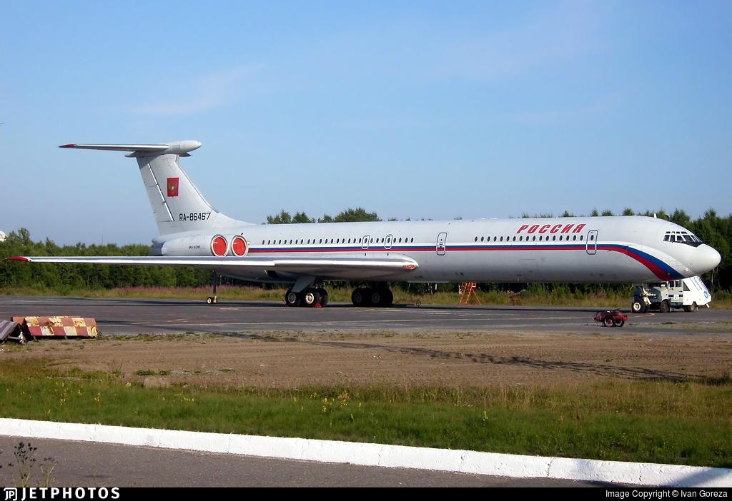 RA-86467 - Ilyushin IL-62M - Russia - State Transport Company