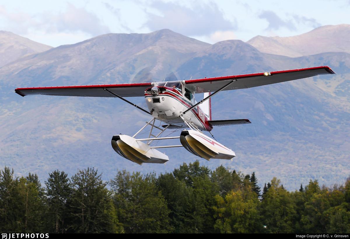 N1950U - Cessna A185E Skywagon - Private