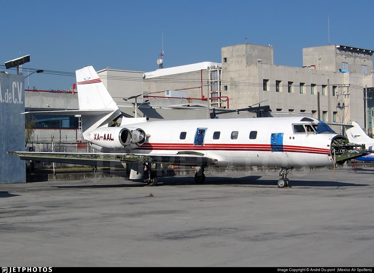 XA-AAL - Lockheed L-1329-25 JetStar II - Private