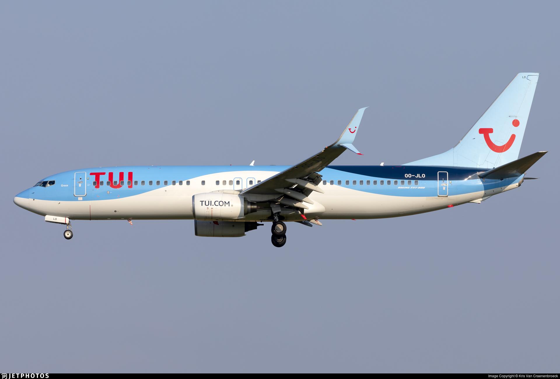 OO-JLO - Boeing 737-8K5 - TUI