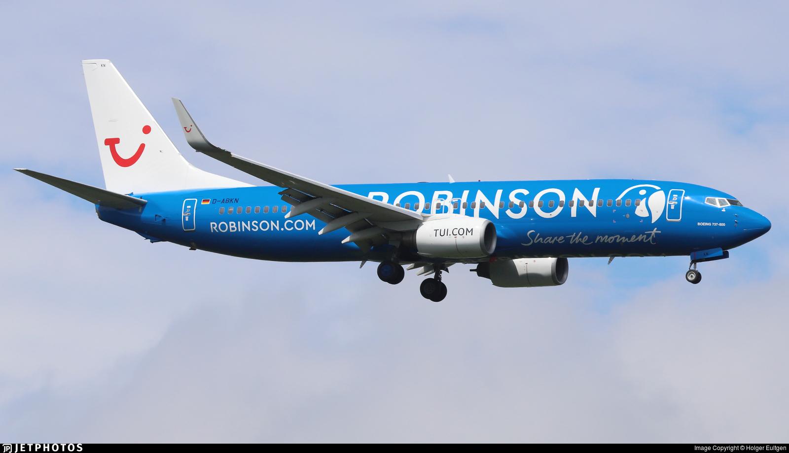 D-ABKN - Boeing 737-86J - TUI