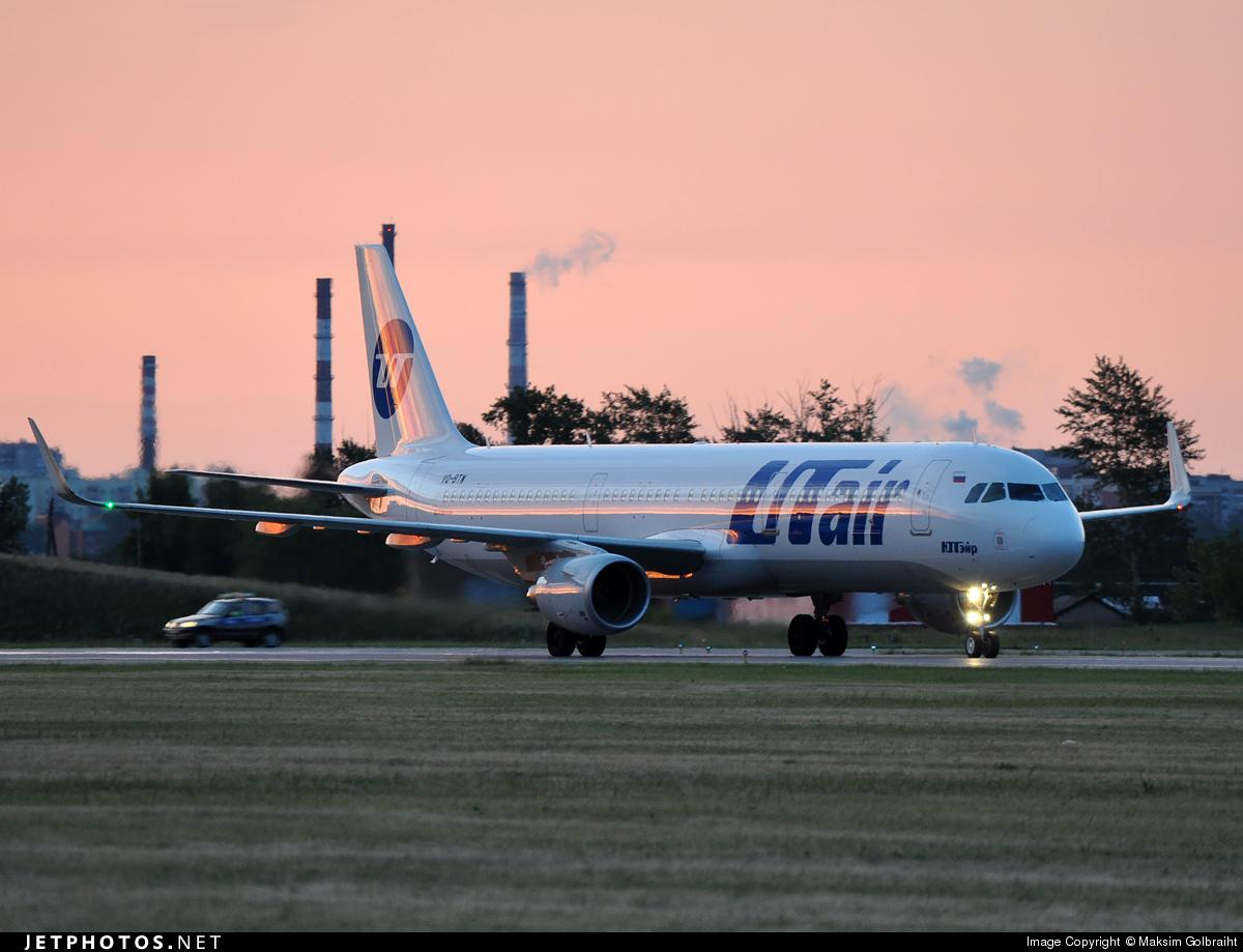 VQ-BTW - Airbus A321-211 - UTair Aviation
