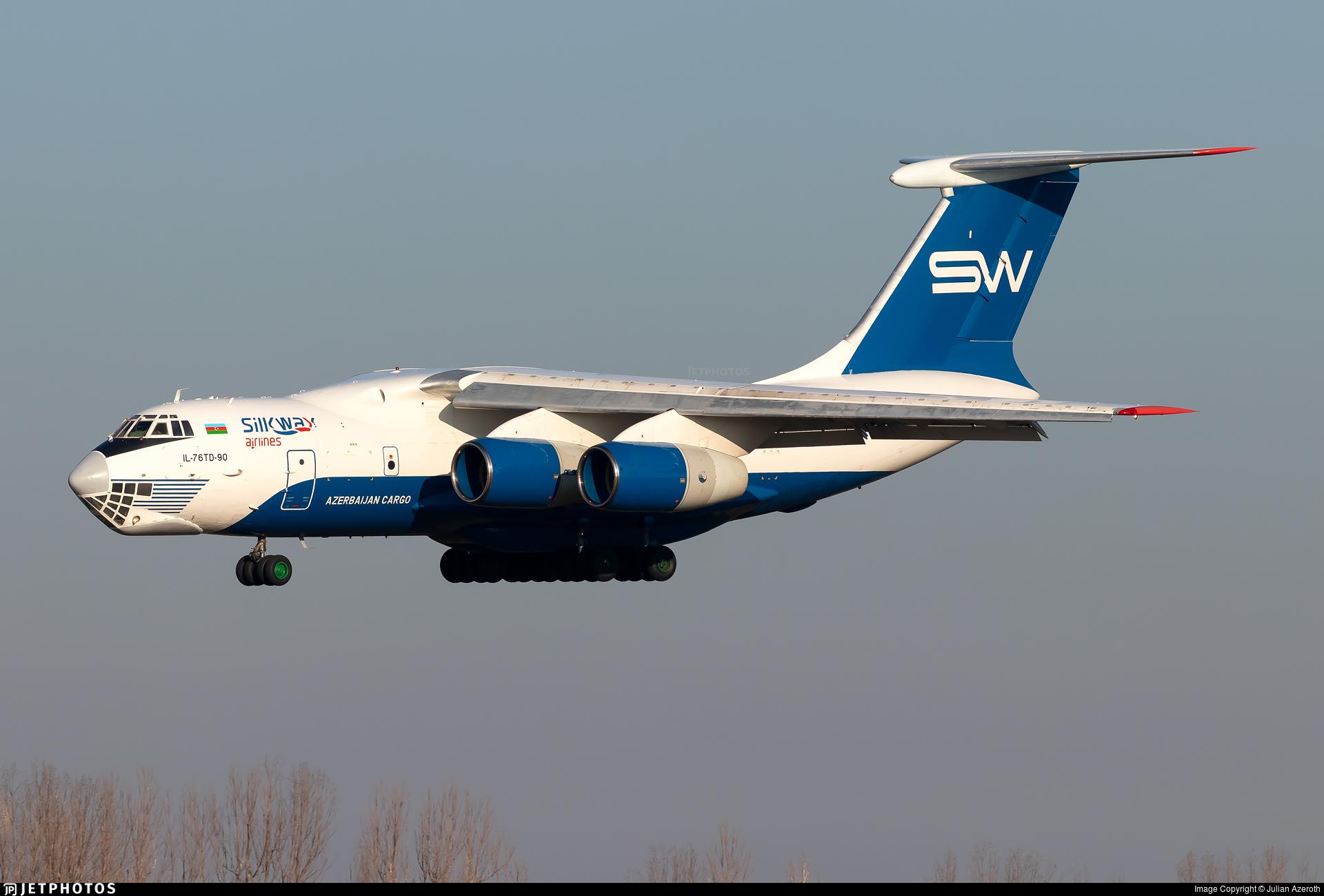 4K-AZ100 - Ilyushin IL-76TD-90SW - Silk Way Airlines