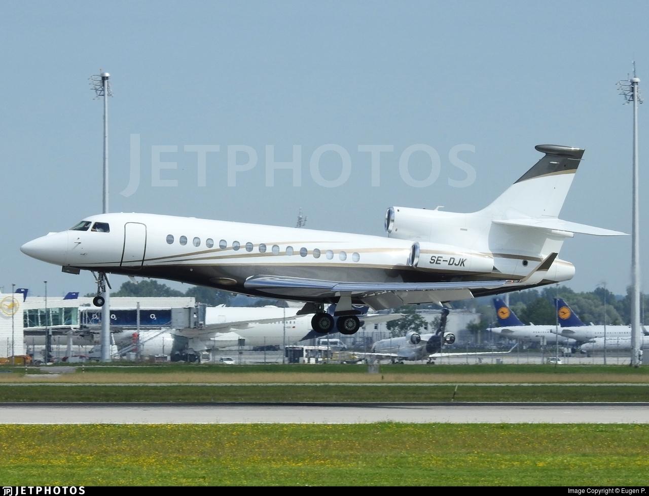 SE-DJK - Dassault Falcon 7X - Private
