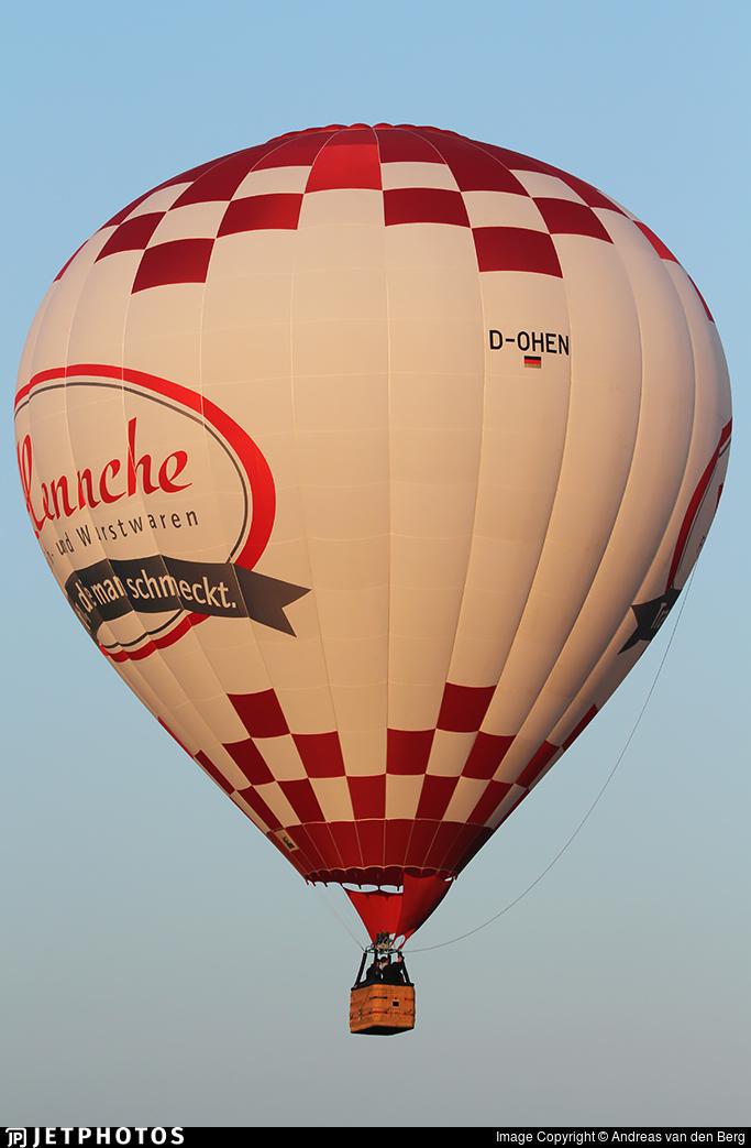 D-OHEN - Schroeder Fire Balloons G - Siebel Ballooning