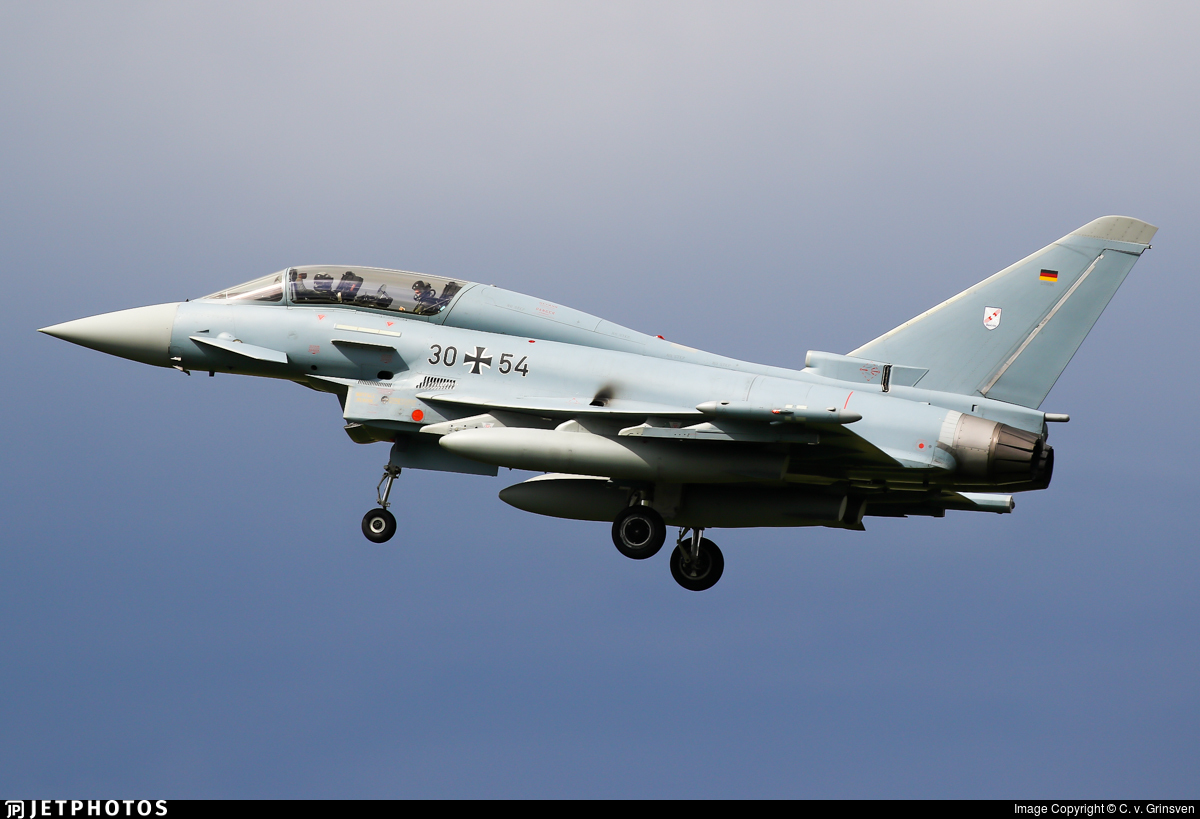 30-54 - Eurofighter Typhoon EF2000(T) - Germany - Air Force