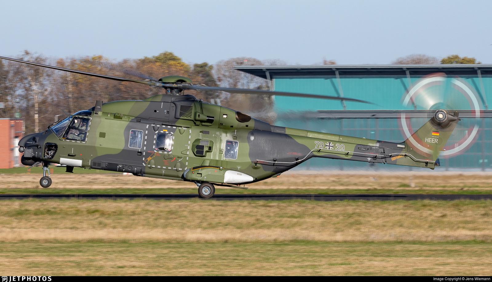 79-39 - NH Industries NH-90TTH - Germany - Army