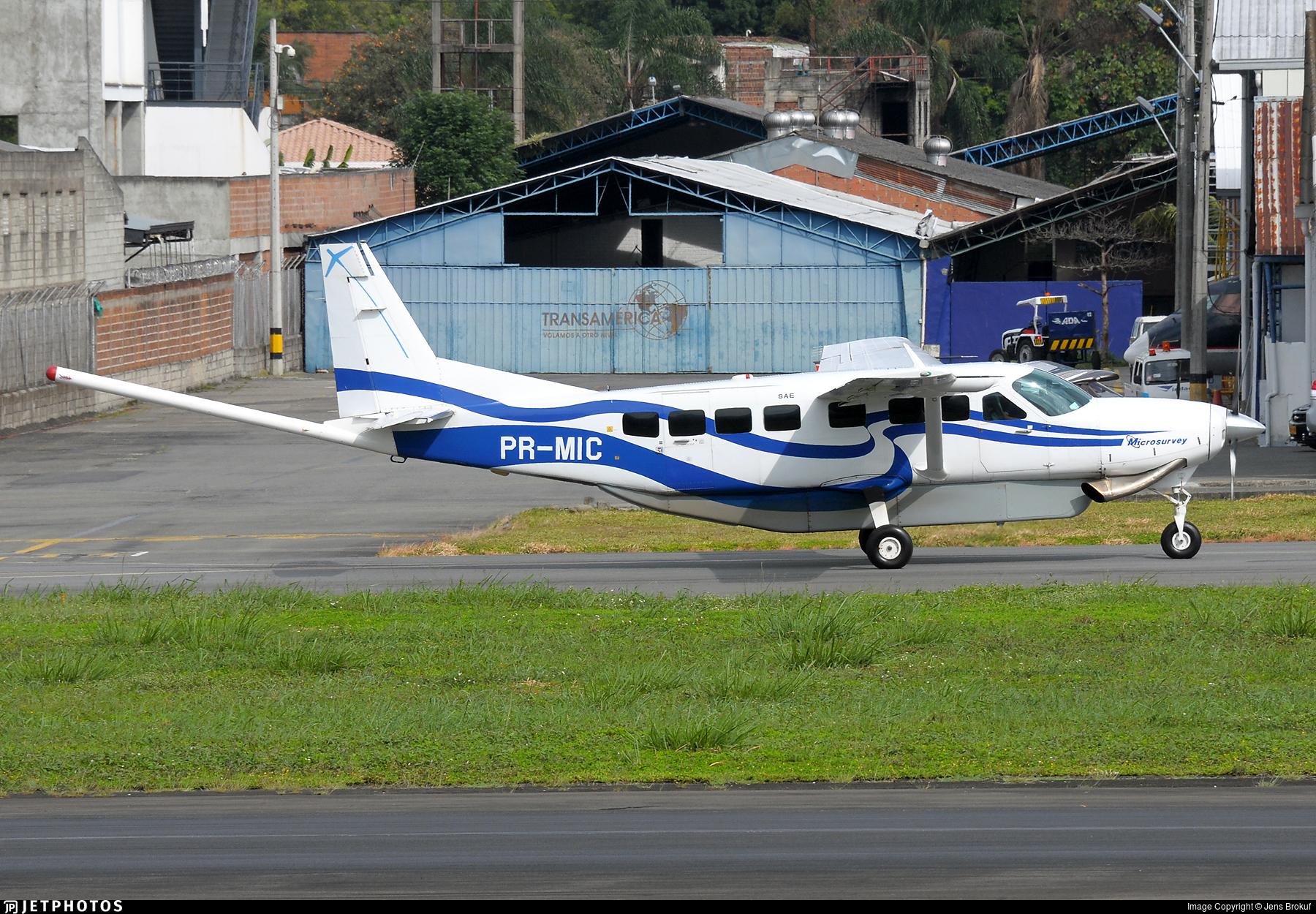 PR-MIC - Cessna 208B Grand Caravan - Microsurvey